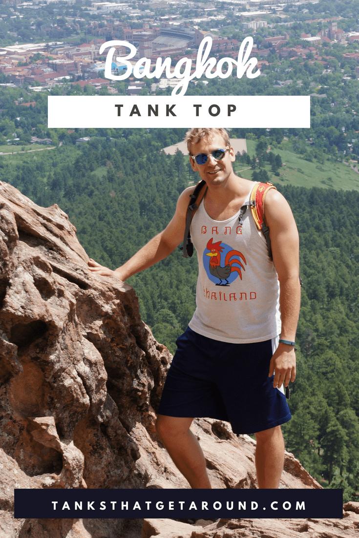 Unisex/Men's Bangkok Thailand (v1.0) Tank Top